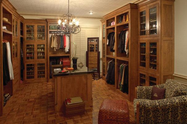 Mediterranean Closet by Kickerillo Companies