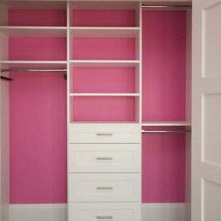 Design ideas for a modern storage and wardrobe in Cincinnati.