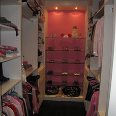 Modern Closet by David Nosella Interior Design
