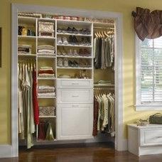 Traditional Closet by Distinctive Closets
