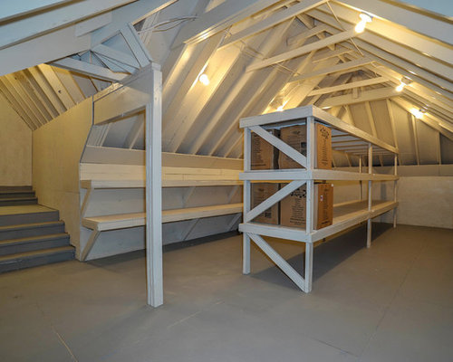 Attic Storage Houzz
