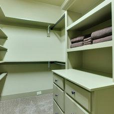 Traditional Closet by PAUL VARNEY CONSTRUCTION, LLC