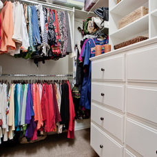 Traditional Closet by DFW Improved