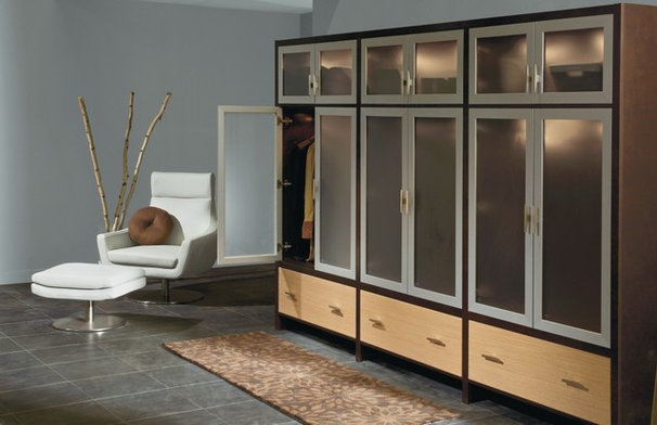 Contemporary Closet by MasterBrand Cabinets, Inc.