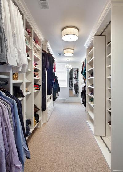 Contemporary Closet by Anthony Wilder Design/Build, Inc.
