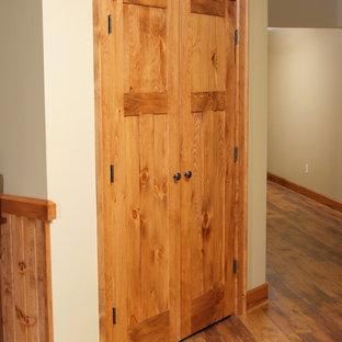 Knotty Pine Shaker Style Double Door