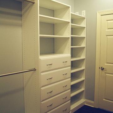 L.H. Master Closet (Ashburn, VA)