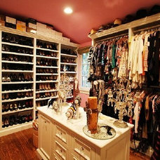 Modern Closet Ladies Closet To Die for!