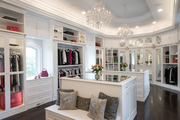 Traditional Closet by G. Terbrock Luxury Homes