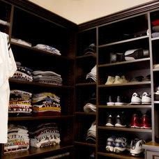 Traditional Closet by Robin Roy, California Closets