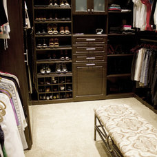 Traditional Closet by Robin Roy, California Closets