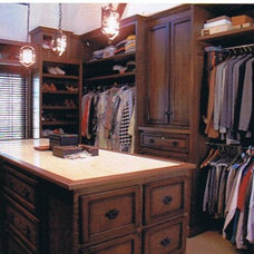Traditional Closet by Letitia Holloway