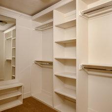 Contemporary Closet by DreamBuilder Custom Homes