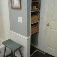 Contemporary Closet Lake Ridge Remodel