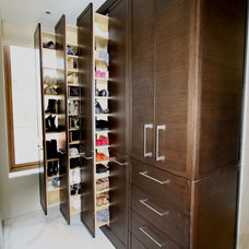 Contemporary Closet by Domicile Designs San Francisco