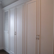 Traditional Closet by Lerman Construction Management Services