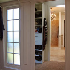 Traditional Closet by Landmark Builders
