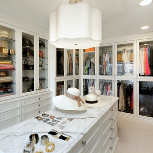 Large Bright Walk-in Closet & Master Bath