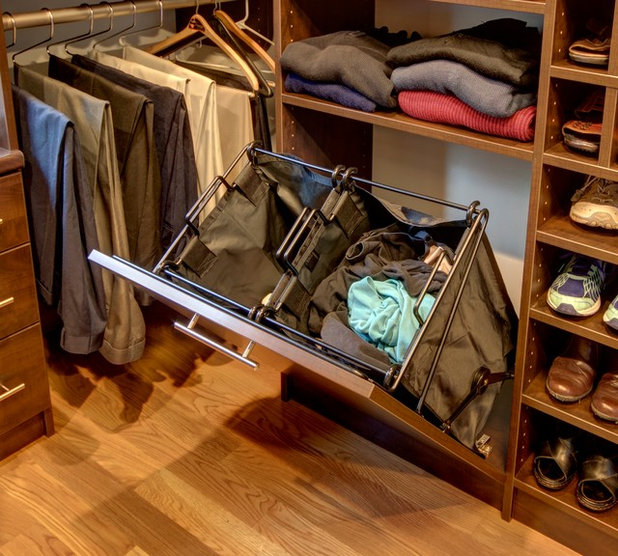 Traditional Closet by Built-Rite Closets