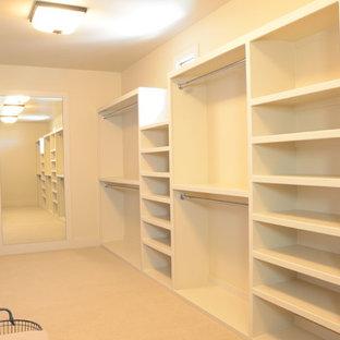 Design ideas for a mediterranean storage and wardrobe in Austin.