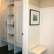 Traditional Closet by Lark Interior Design