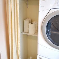 Eclectic Closet Laundry Closet
