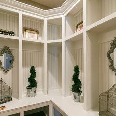Traditional Closet by TK Design & Associates