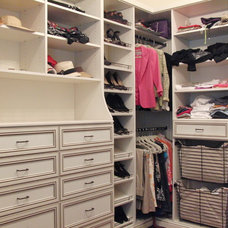 Traditional Closet by Rylex Custom Cabinetry and Closets