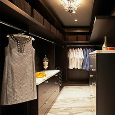 Contemporary Closet by Emily LaMarque Design Studio