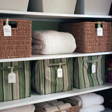 Traditional Closet by Cristin Priest {Simplified Bee}