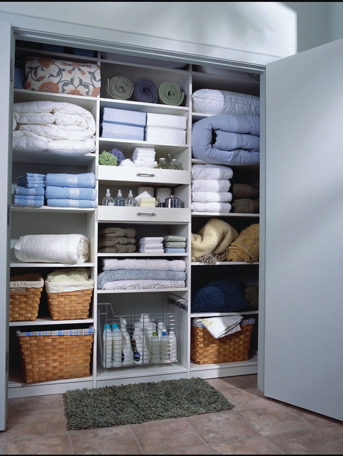 Linen Closet Home Design Ideas, Pictures, Remodel and Decor
