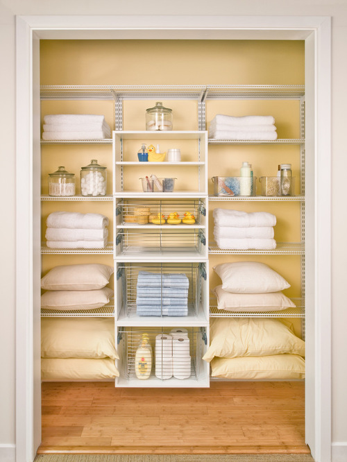 Bathroom Closet Shelving Ideas bathroom closet designs - home design