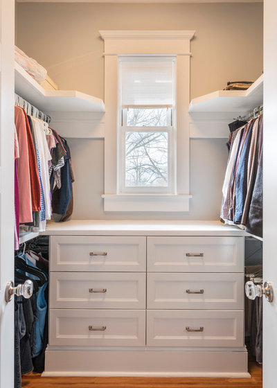 Traditional Closet by Element Construction