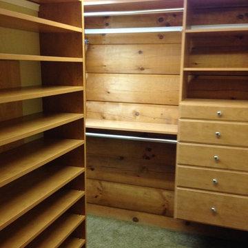 Log Cabin Closet Systems