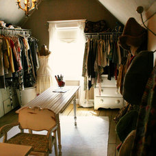 Traditional Closet by Kasey Buick