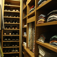 Traditional Closet by Robin Amorello, CKD CAPS - Atmoscaper Design