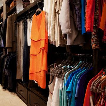 Long Narrow Walk in Closet