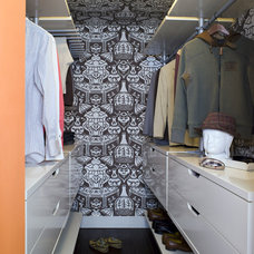 Contemporary Closet by Lori Dennis, ASID, LEED AP