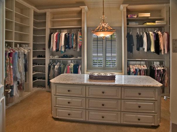 Traditional Closet by Brevard Stone Inc