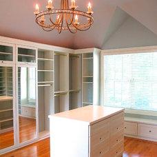 Traditional Closet by William L.  Feeney Architect LLC