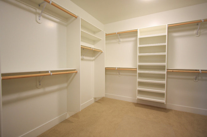 Contemporary Closet by LuAnn Development, Inc.