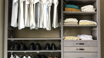 Lundia SOLID WOOD Closets in Gray Wash