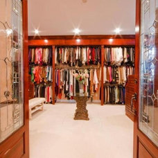 Contemporary Closet Luxe Closet For Her
