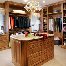 Traditional Closet by Peter Salerno Inc