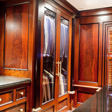 Traditional Closet by South Shore Millwork