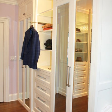 Luxurious Master Closets