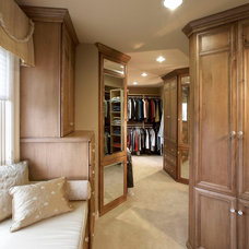 Traditional Closet by timothyj kitchen & bath, inc.