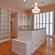 Traditional Closet by Artistic Closet Designs Inc.