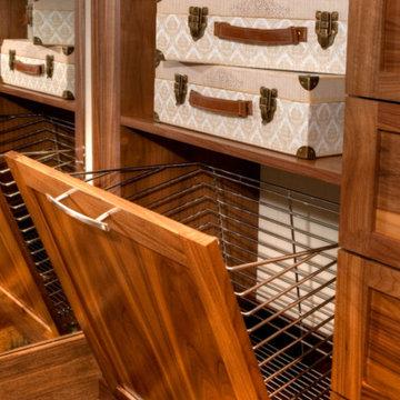 Luxury Wood Closet Organizers