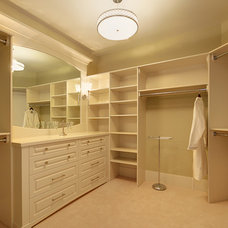Traditional Closet by Maillot Homes